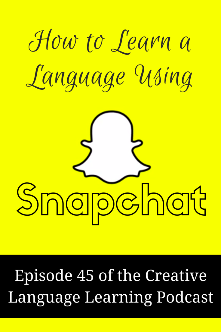 snapchat language learning
