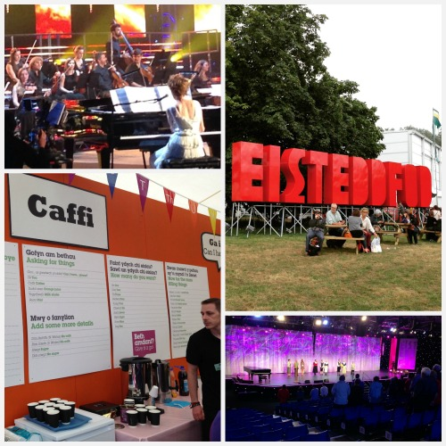 Impressions from Eisteddfod week