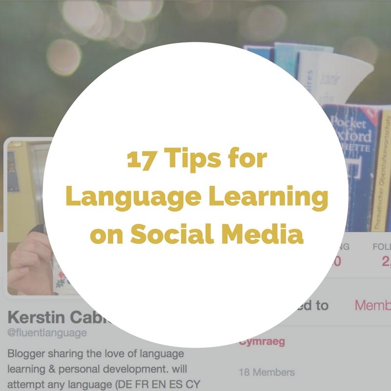 social media effect on language