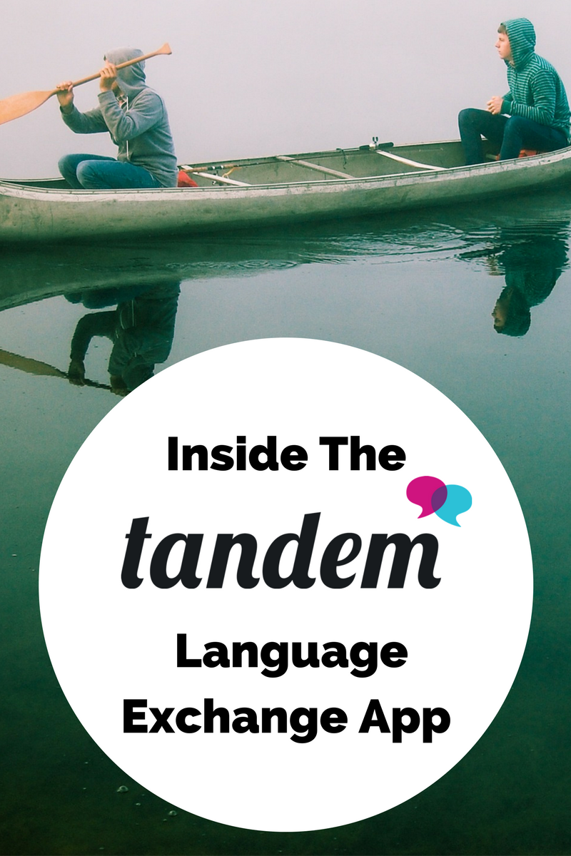 language exchange app tandem reviewed