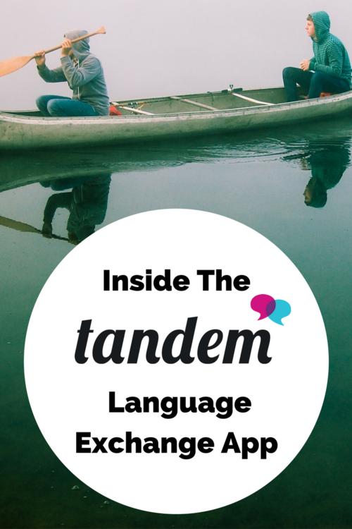 language exchange app tandem reviewed