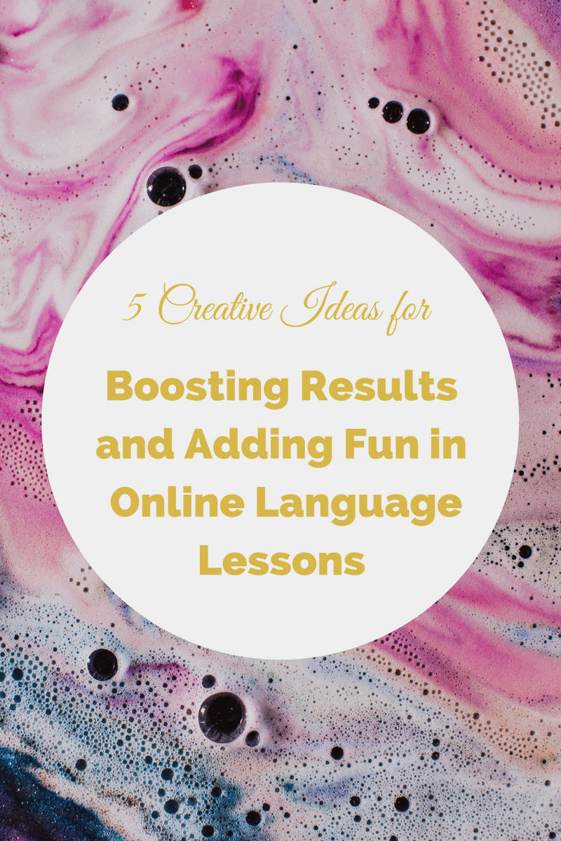5 ideas for online language lessons