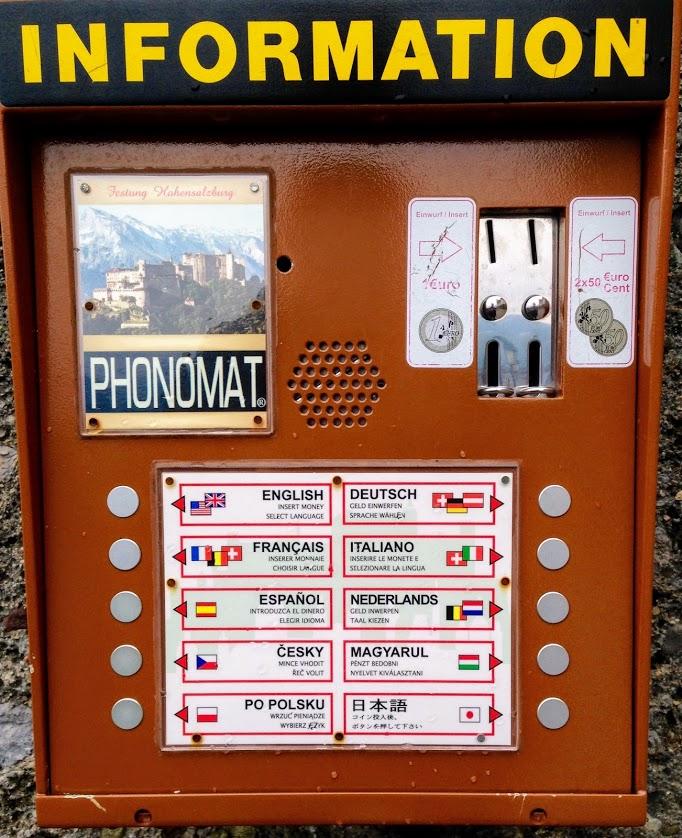 multilingual tourist information