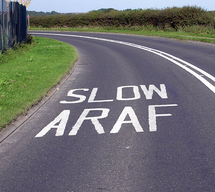 Bilingual Driving Directionsin Wales -