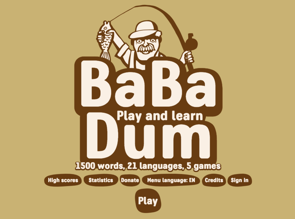 babadum language game
