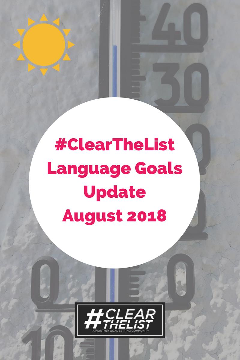 language august 2018