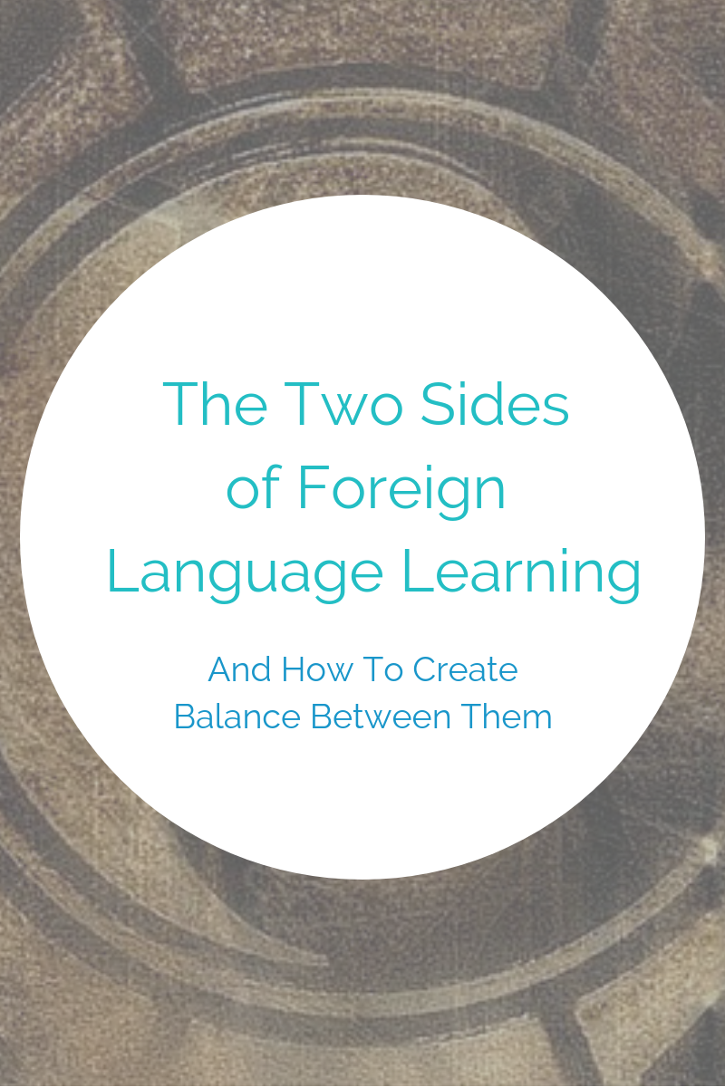 yin yang balance language learning