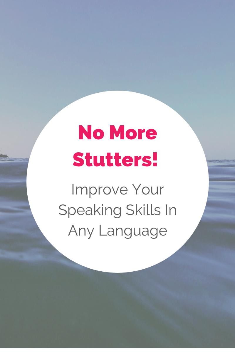 improve speaking