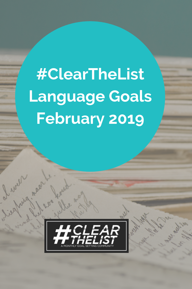 clear the list feb 19