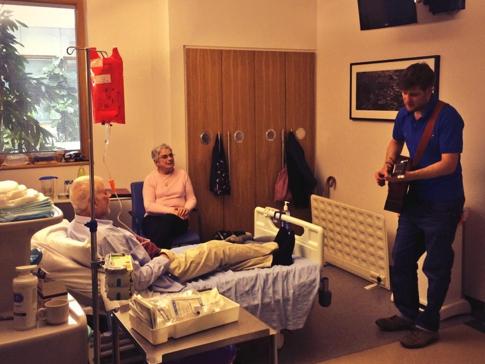 Adam with patient.jpg