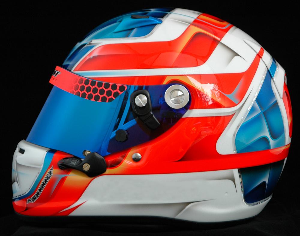 Helmet Custom Airbrush Or Plastic Wrap