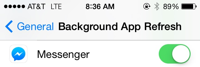 On iOS, go to Settings > General > Background App refresh to revoke permissions.