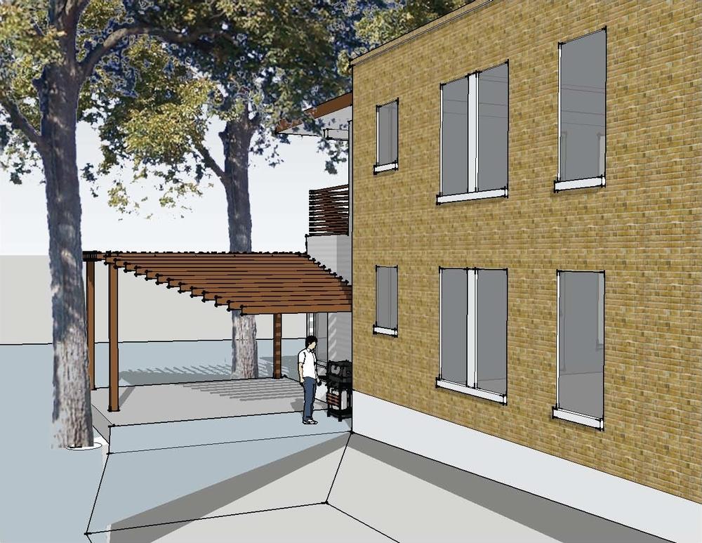 Scheme 1 - View from Street