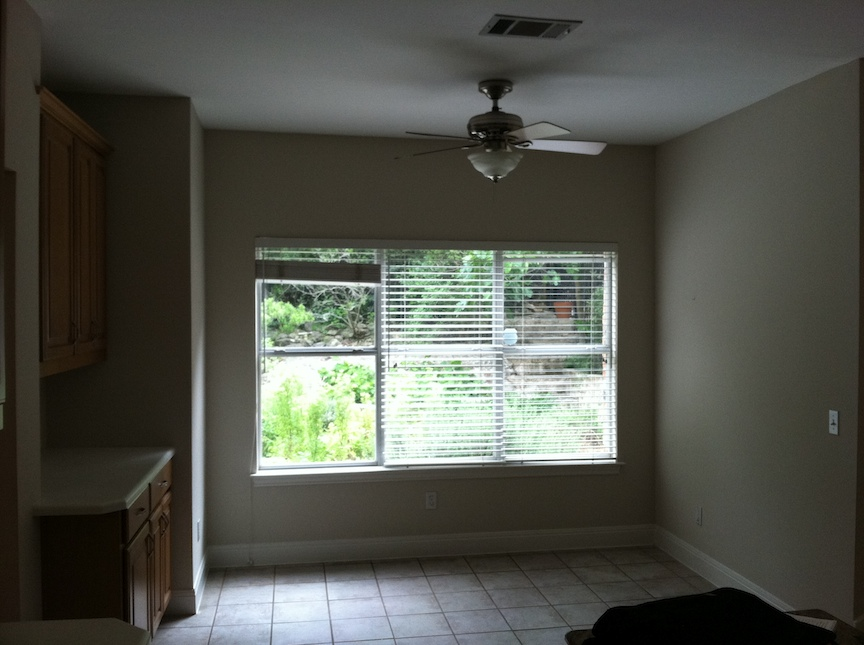 Before - Breakfast nook