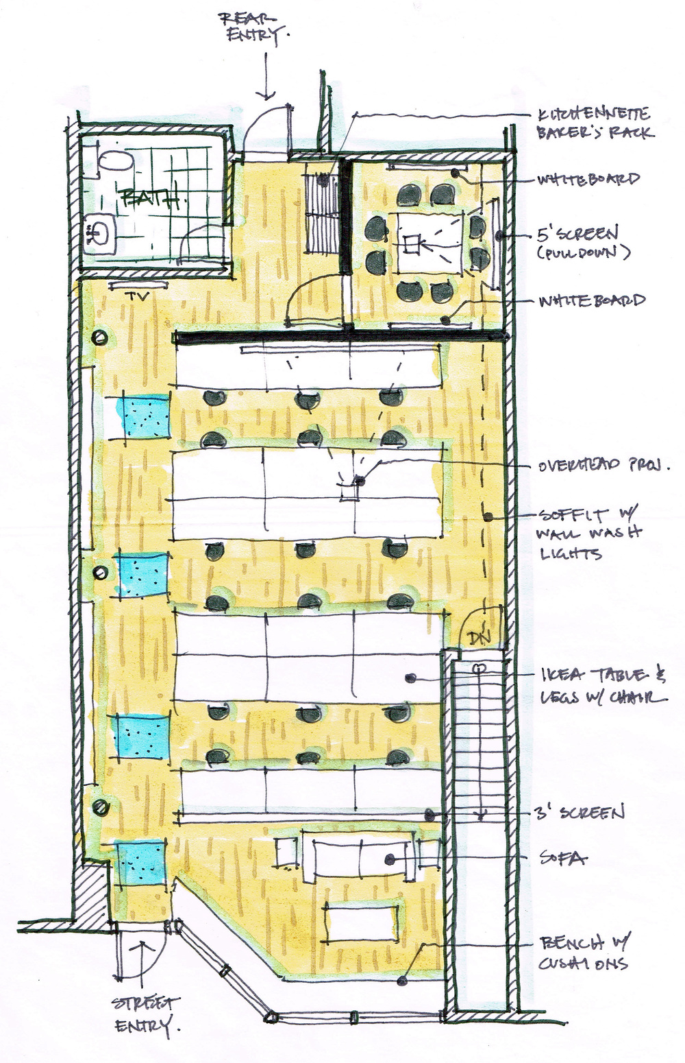 Conceptual Floor Plan