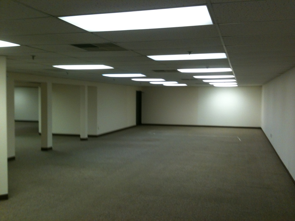 Existing Basement Commercial Office