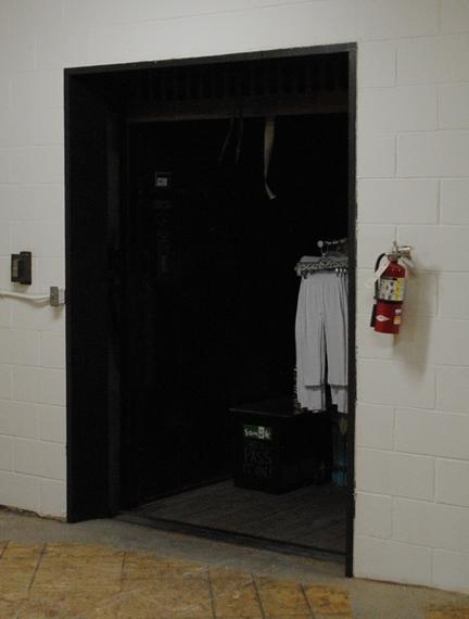 Original Freight Elevator