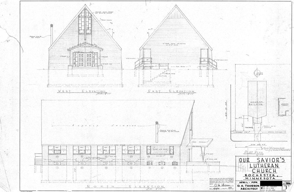 Original Church Drawings