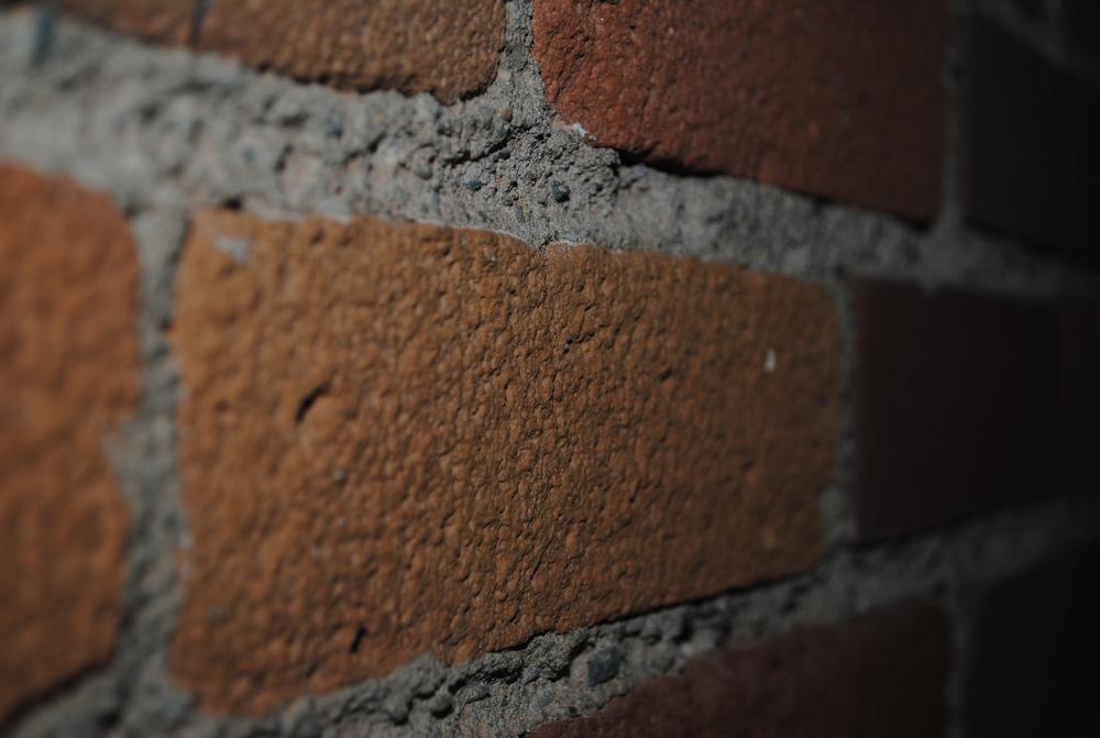 Coal Slag Media Blasting (paint on masonry)