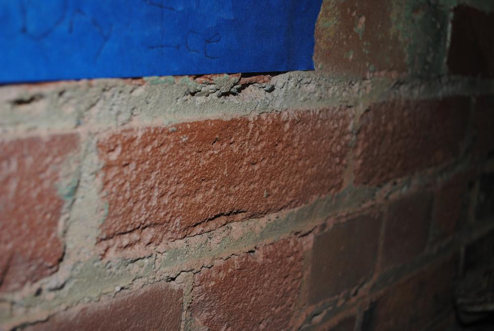 Dry Ice Blasting (paint on masonry)