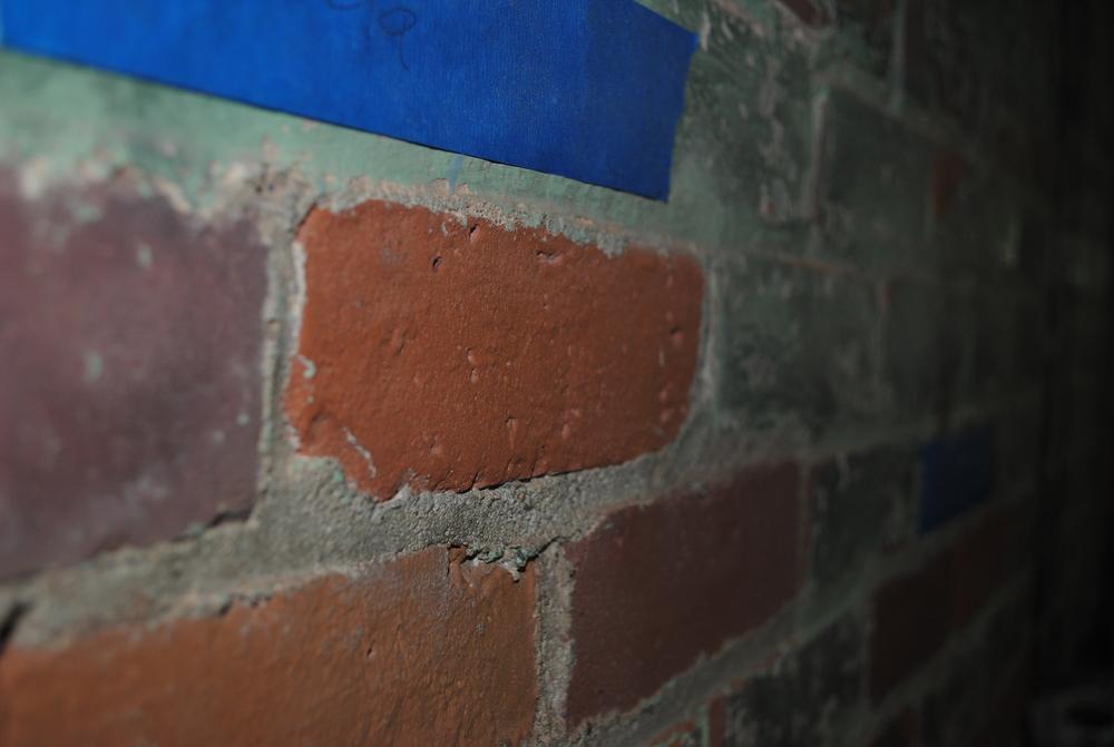 Baking Soda Blasting (paint on masonry)