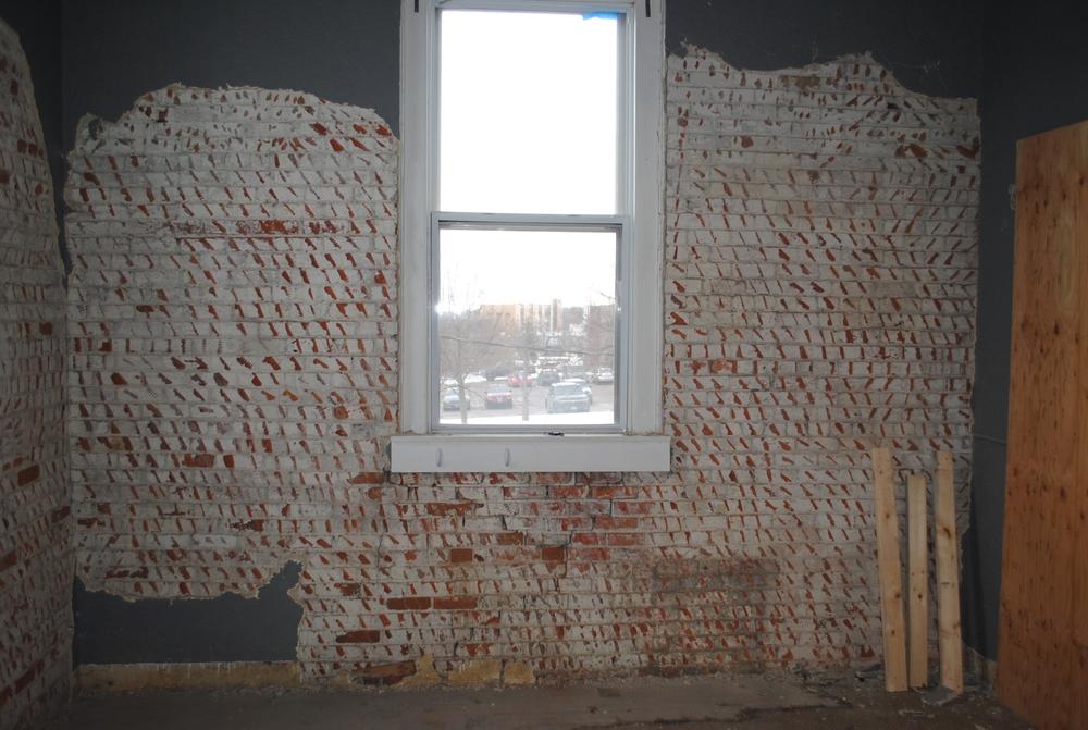 Historic Brick - Plaster Residue