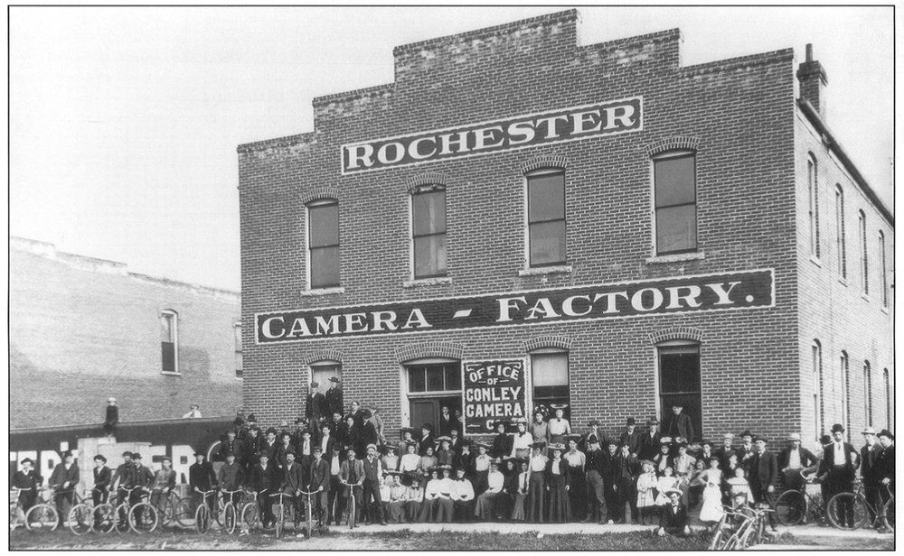 Figure 1.  Conley Camera Factory Exterior, ca. 1904.jpg