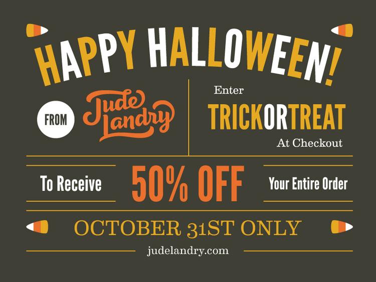 Halloween Sale! — Jude Landry