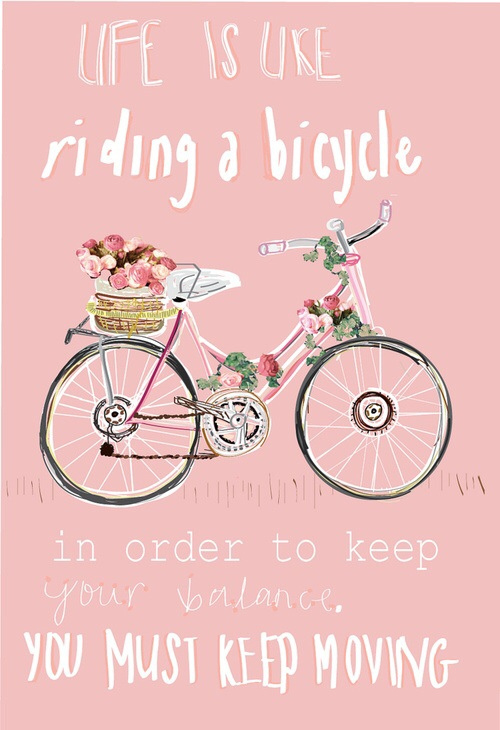 life is like reading a bicycle