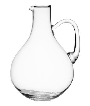 Glass Carafe, $17.95