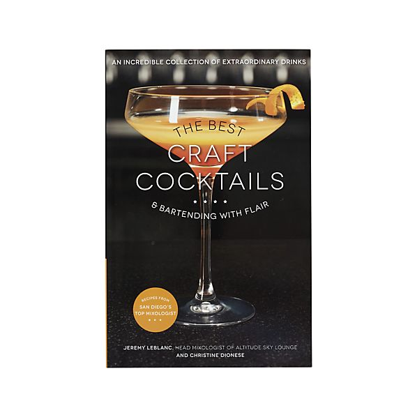 The Best Craft Cocktails Book, $19.99