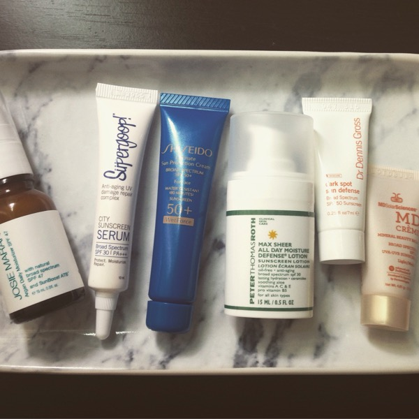sephora sunscreen samples