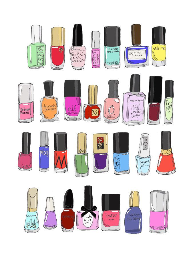 30 Nail Polishes on Etsy