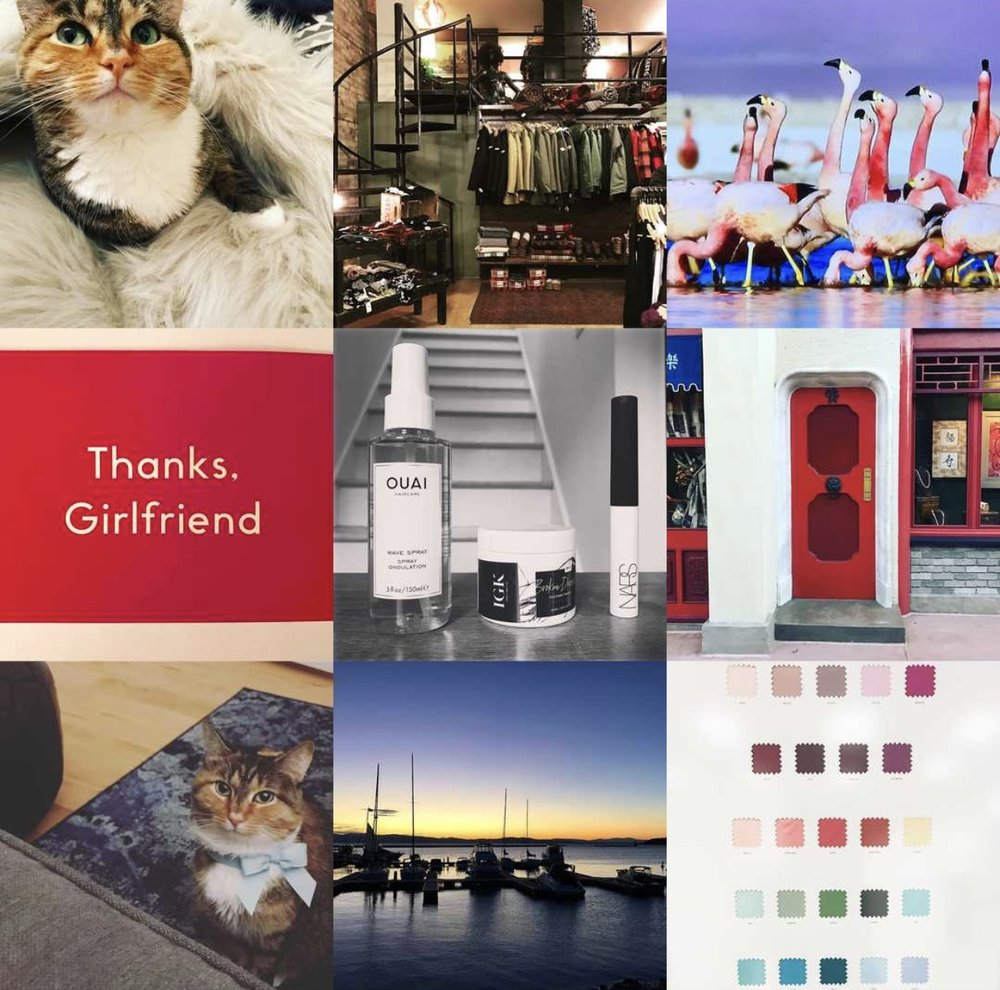 my top 9 Instagram posts for the year