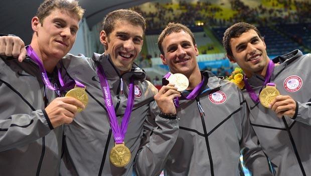 Team USA Men's 4x200m team!