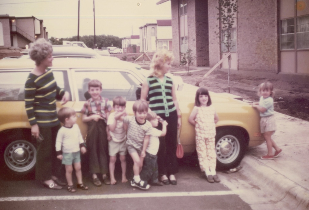 Valderas and Lyons Cousins - Fort Worth Texas 1970