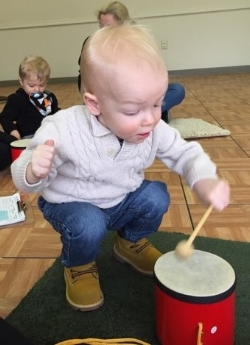 "I'm the ""Little Drummer Boy!!"""