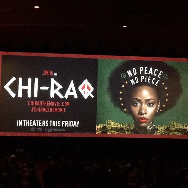 CHI-RAQ NYC Movie Premiere