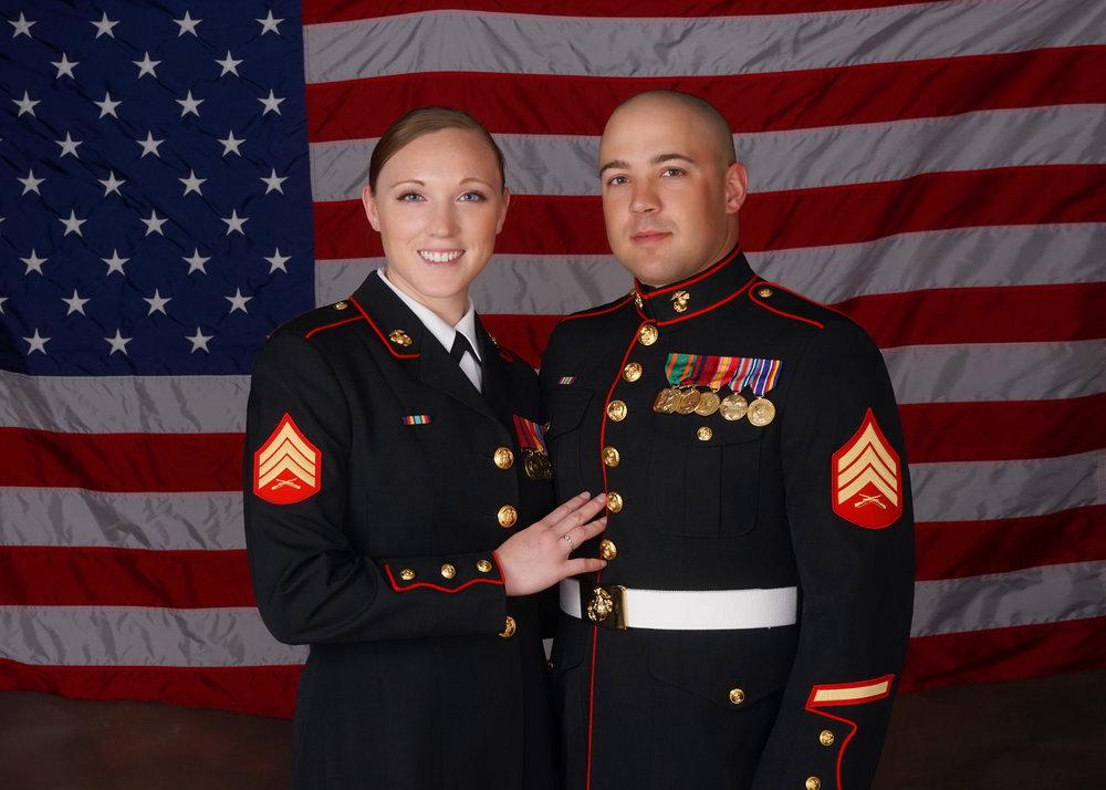 2018 Marine Grad — Beaufort-Family-Portrait-Beach-Wedding-Photographer