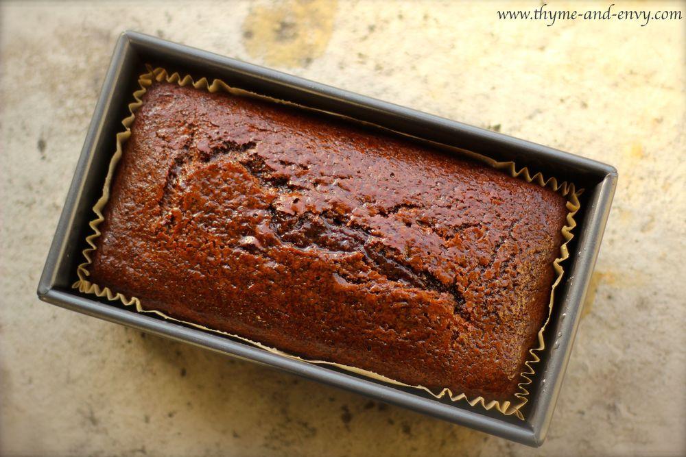 Sticky Jamaican Ginger Cake Thyme Amp Envy