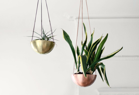 Hanging Planters by Ashira Israel, image courtesy Kaufmann Mercantile