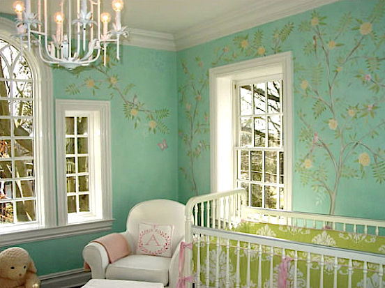Nursery in Short Hills, New Jersey, courtesy Sam Simon