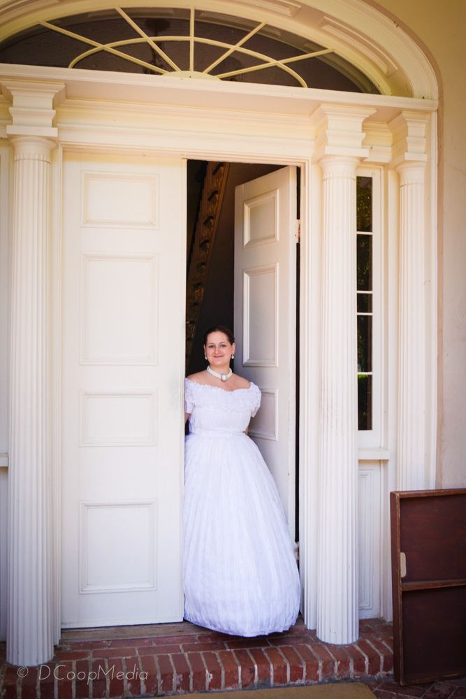 The aedicule at Oak Alley Plantation in Louisiana