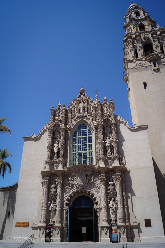 A Spanish influenced aedicule at San Diego's Balboa Park