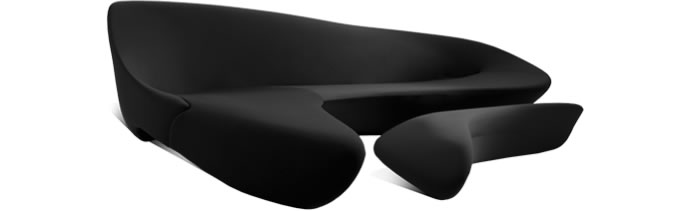 Moon System Sofa by Zaha Hadid Design, image courtesy Zaha Hadid Design