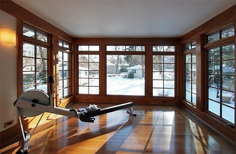 Sunroom studio by G. Steuart Gray, AIA. Photo by G. Steuart Gray
