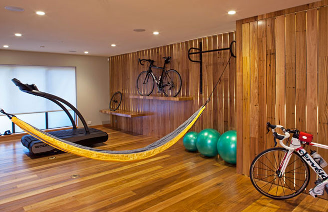 Yoga Studio by Sogno Design Group. Photo by Langdon Clay