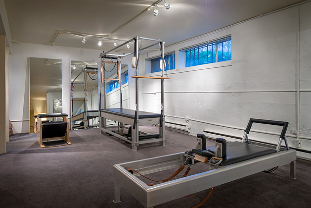 Seattle based Pilates studio Leitz Pilates.