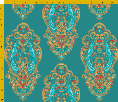 Antique Teal, Image courtesy April Elizabeth