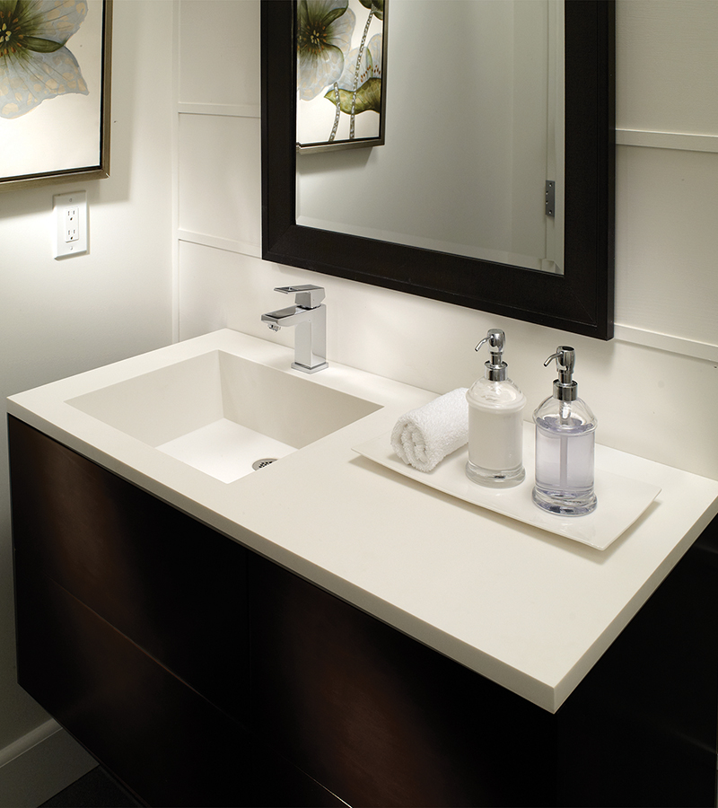 Petra Counter Sink, image courtesy MTI Baths